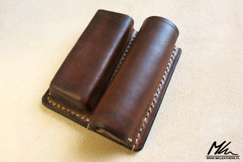 Mk Leathers 187 Leather Knife Pouches