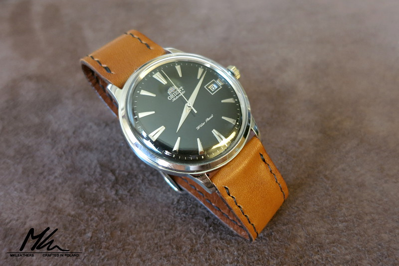 Mk Leathers 187 Orient Bambino Leather Strap